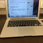 なりたい自分になる為に、MacBook airを買って環境を整えた。