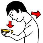 頭の位置を調整する、後頭下筋群。