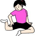 膝を保護して、脚の疲れを取り除く。
