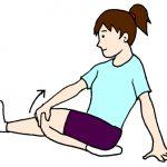 ふくらはぎと前脛骨筋のストレッチ