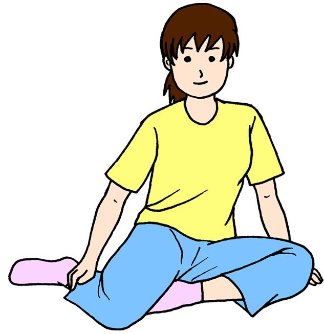 骨盤調整横座り検査
