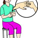 指の付け根ケア