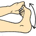 足の痛み、歪むメカニズム、足を自分で調整する方法