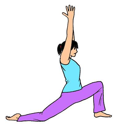 腸腰筋を伸ばすヨガのポーズ